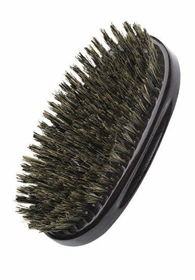 DIANE 100% BOAR MILITARY PALM BRUSH, BLACK,
