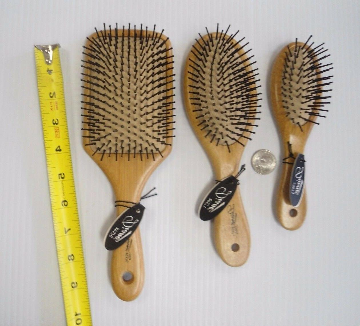 Diane by Row Mini Oval Paddle Hair D9573