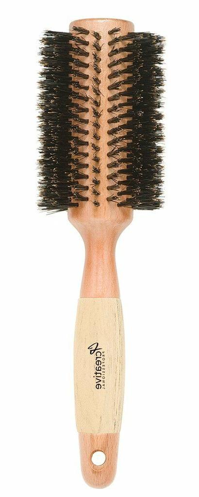 Creative Classic Round Boar Bristle Hair Brush CR4XX