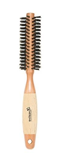 Creative Hair Brushes Classic Round Sustainable Wood, 1 Ounc