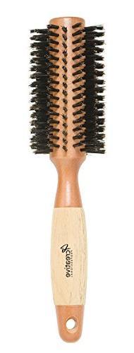 Creative Hair Brushes Classic Round Sustainable Wood, Large,