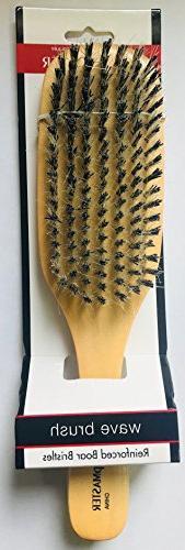 Scalpmaster Club Boar - Medium Bristles - For Hair Scalp, Reducing For