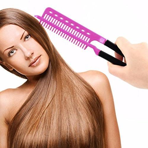 comb hairbrush diy salon folding