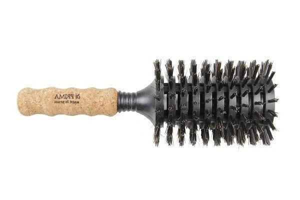 cork handle round vent pure boar hair