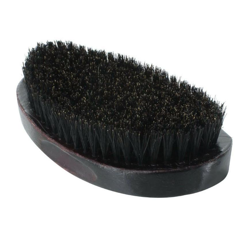 Curved Wave Hair Brush Wooden NEW