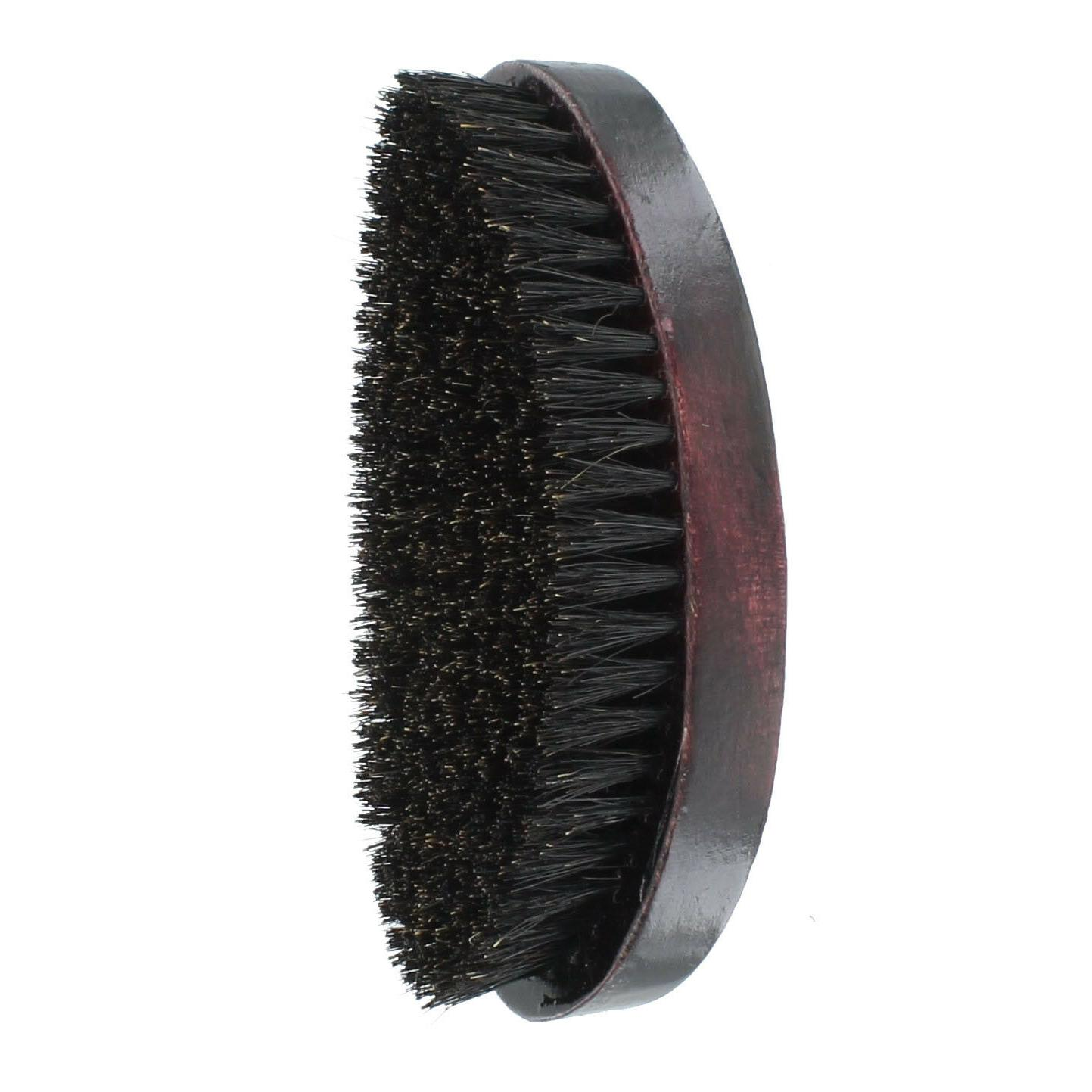 Curved Wave Hair Military Brush