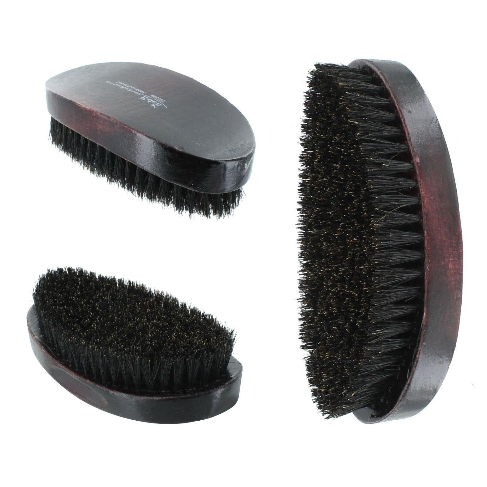 curved soft boar bristle wave hair military