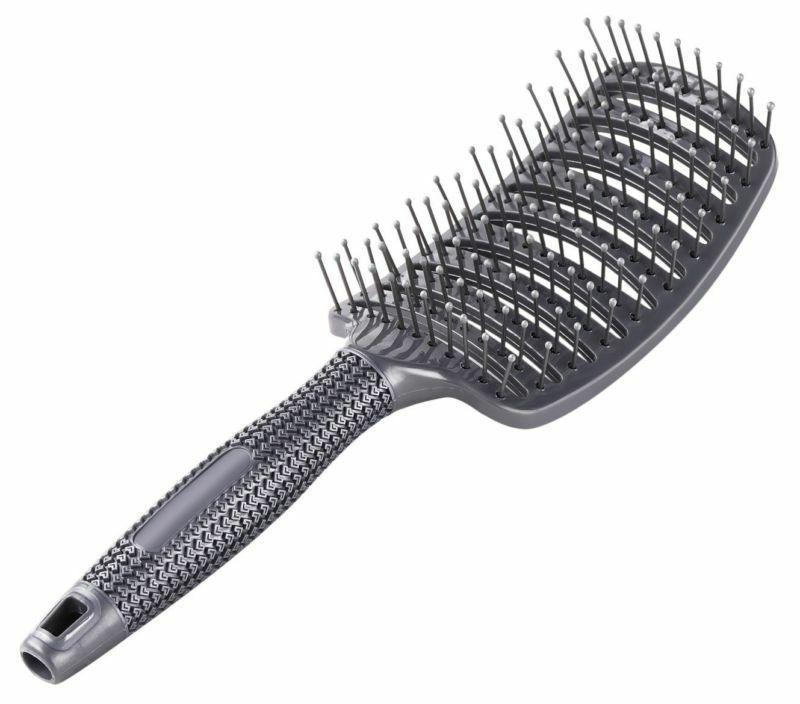 curved vent brush barber blow drying brush