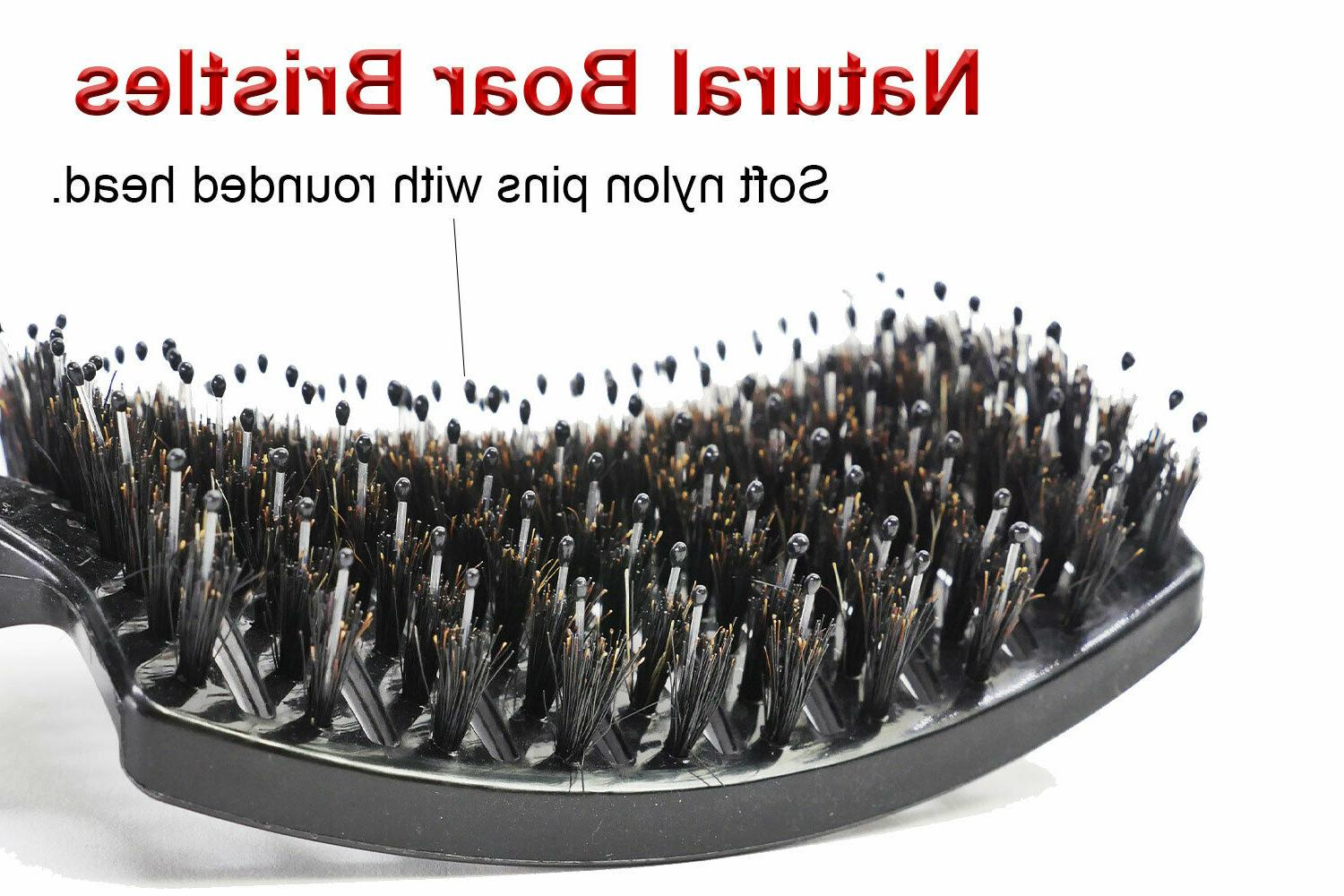 Curved Vented Boar Styling Hair Any or
