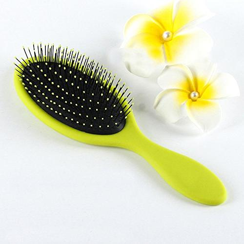 Cushion Base Brush Bristles,Anti Static Portable Hairbrush Hair Volume Frizzy Hair Brush Tool