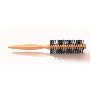 d32l large curling wooden hairbrush