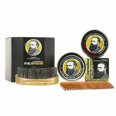 deluxe beard and hair grooming kit