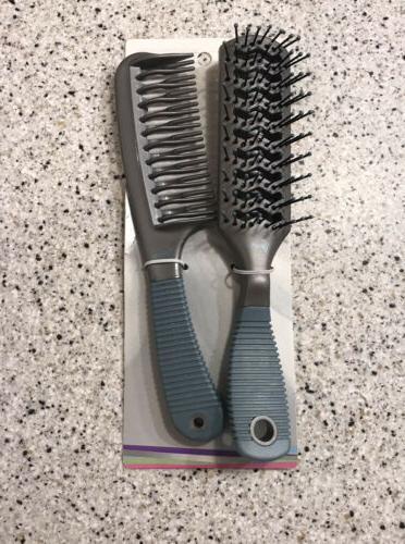 Goody Detangle & Dry Vent Brush/Comb - 2 PC