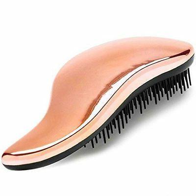 detangler brush rose gold hairbrush for detangling