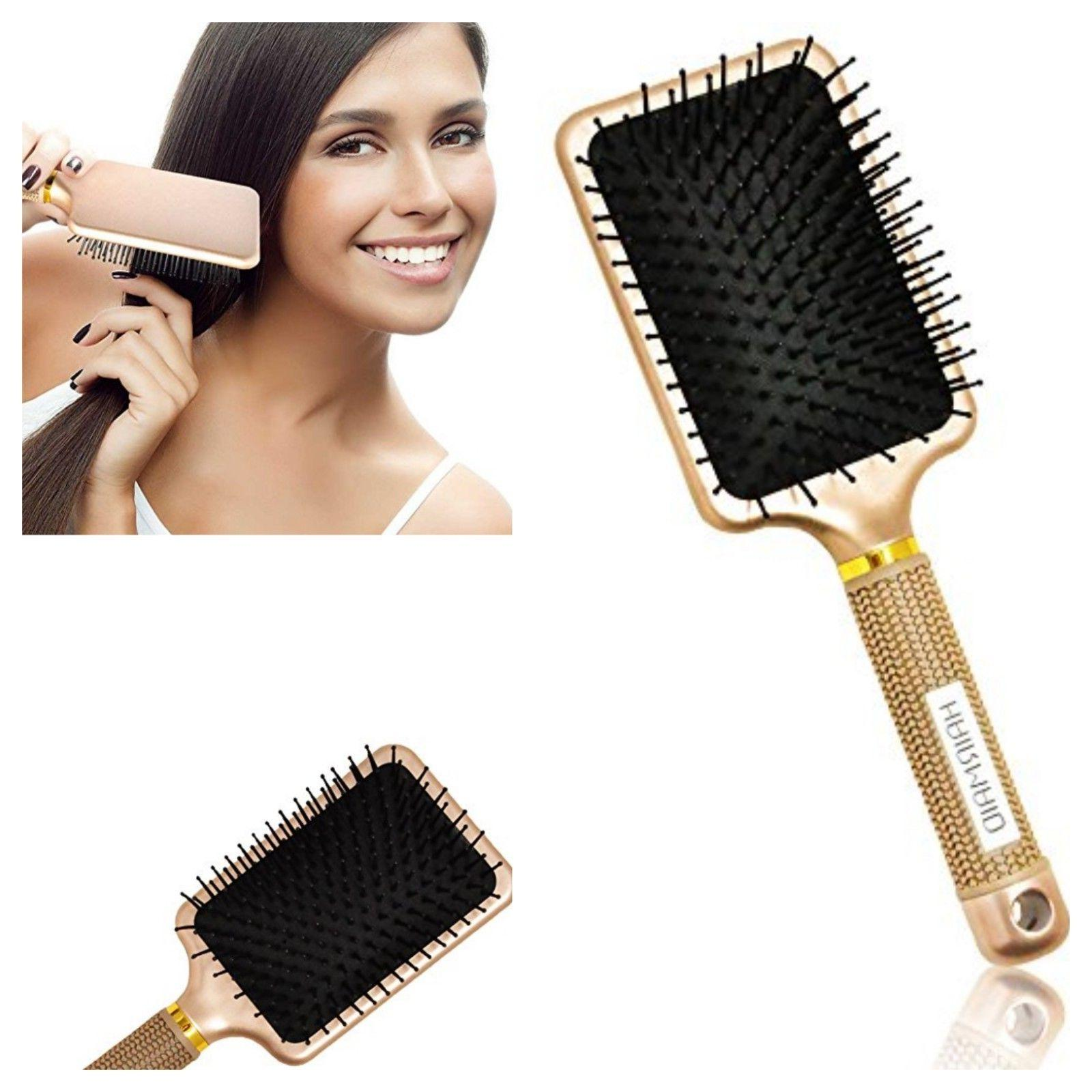 Detangler Hair Brush Professional Curly Straight All Hairs T
