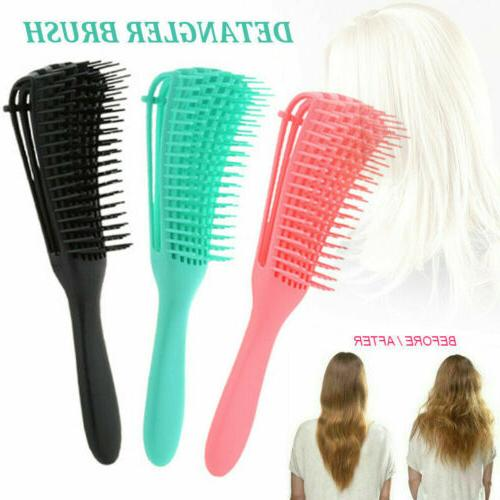 Hair Brush Anti-Static Scalp Comb Salon Hair Styling Tools T