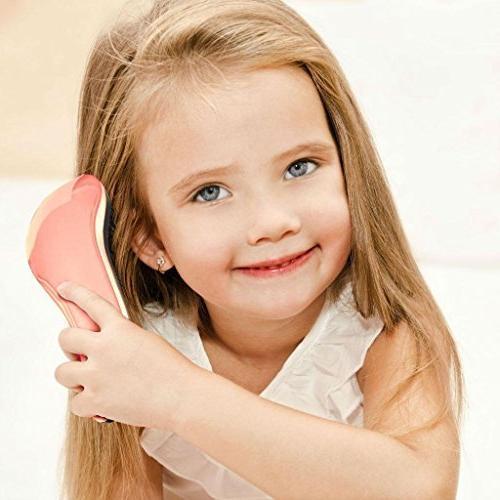 Lily - Detangling Hairbrush for Wet, Women & Kids Hair - Rose