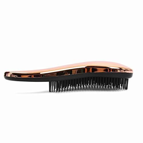 - Detangling Hairbrush Wet, Dry, Women & Hair - Rose Gold