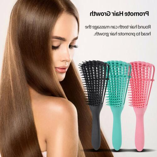 Detangling Brush Hair Combing Brush Detangle With Wet/Dry Cu