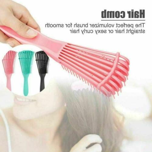 Detangling Brush Hair African hair Styling