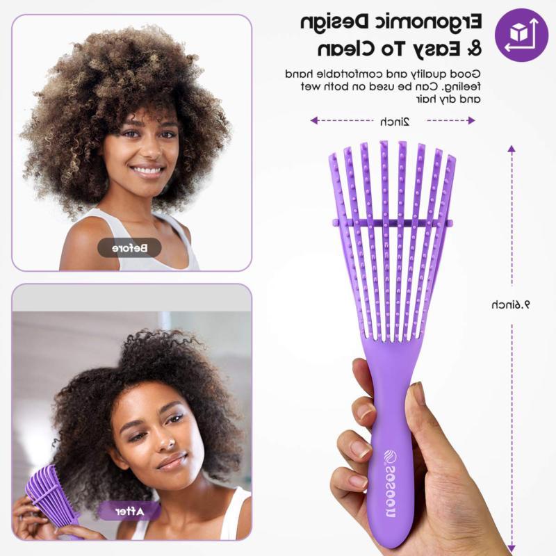 Detangling Detangler Brush Natural Hair, Hair Brush Comb
