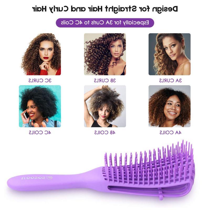 Detangling Brush Natural Hair Brush Comb for Afr