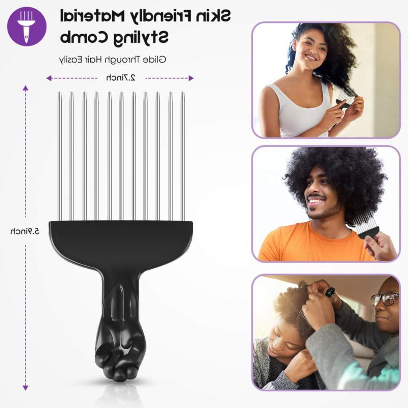 Detangling Brush, Brush for Natural Hair Comb Afr