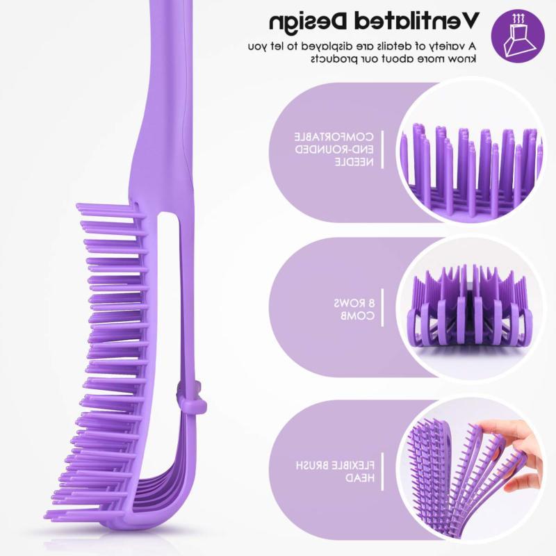 Detangling Brush for Natural Hair Comb Afr