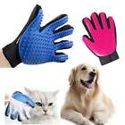 Dog Cat Groomer Glove Shedding Massage Pet Hair Removal Magi