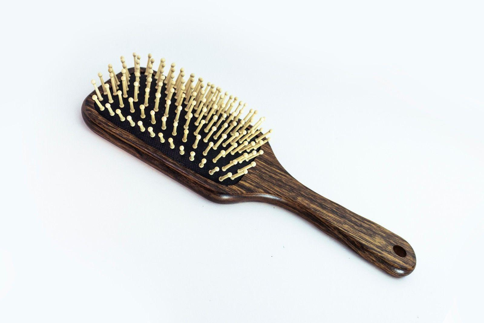 BeautyFrizz Eco Paddle Brush, Non-Irritating for Daily Use.