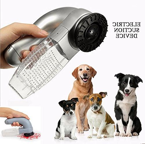 electric pet hair suction device