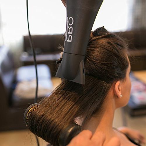 "Pro Beauty Extra-Long Professional Hair Brush, 1-3/4"""
