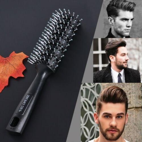 fashion men hair brush plastic antistatic comb