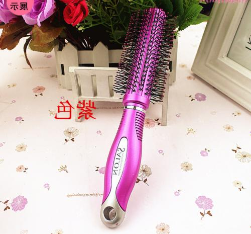 Fine Round Unisex Hairstyle Comb Drying For Curly