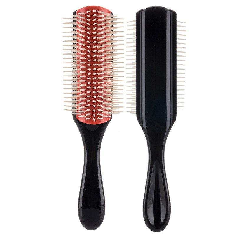 <font><b>Hair</b></font> Styling <font><b>Brush</b></font> Wheat Straw Hairdressing Straight Comb Tangle