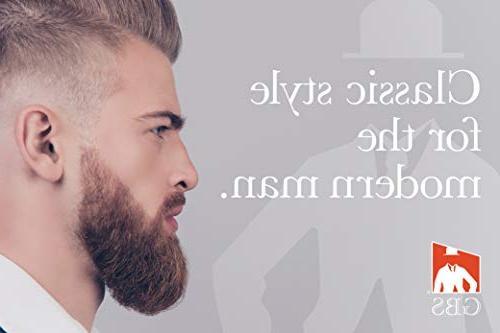 GBS 100% Animal Vegan Synthetic Shaving Brush - Handle - Wet with