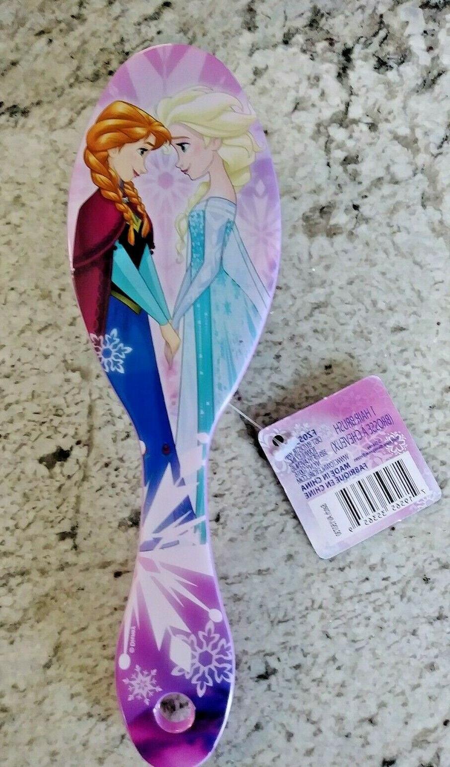 girl s purple hair brush 7 oval