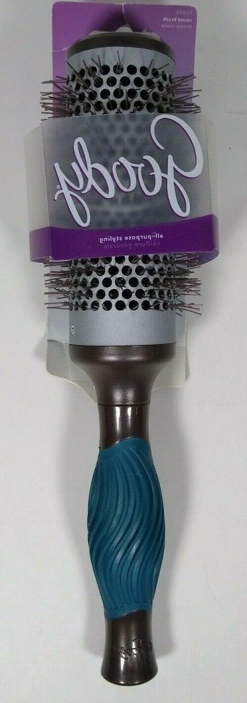 GOODY Grip N' Style Hot Round Brush For Medium To Long Hair