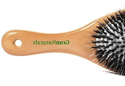 "GranNaturals Boar Style"" Hair Brush"
