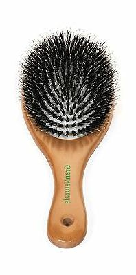 "GranNaturals Boar Bristle ""Porcupine Style"" Oval Hair Brush"