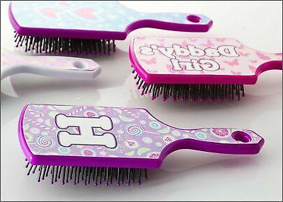 h letter hairbrush