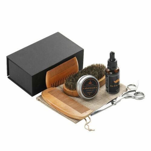 Hair Brush Men 100% Natural Boar Brush & Wax