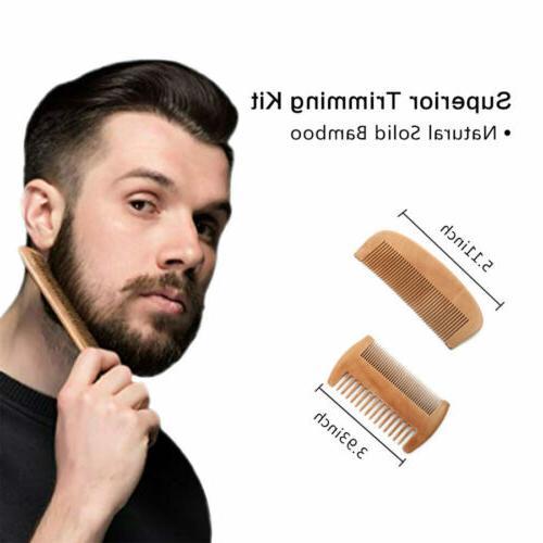 Hair & Beard Brush 100% Natural Boar Bristle Brush W/ Wax