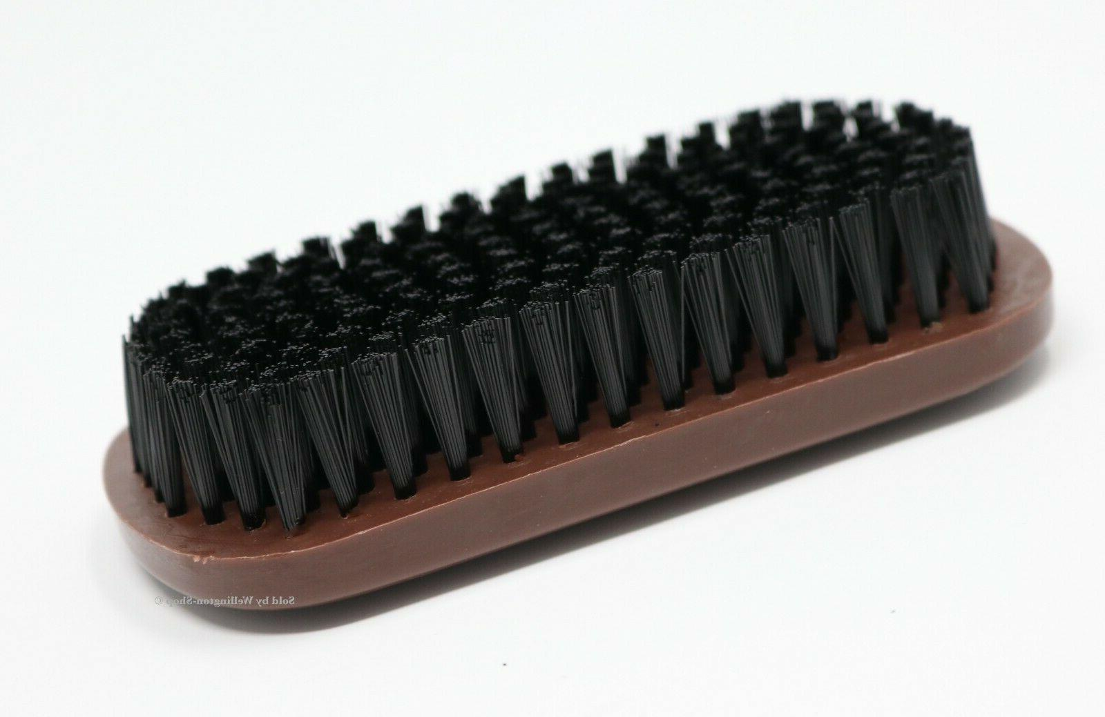 hair brush block style oval nylon bristles
