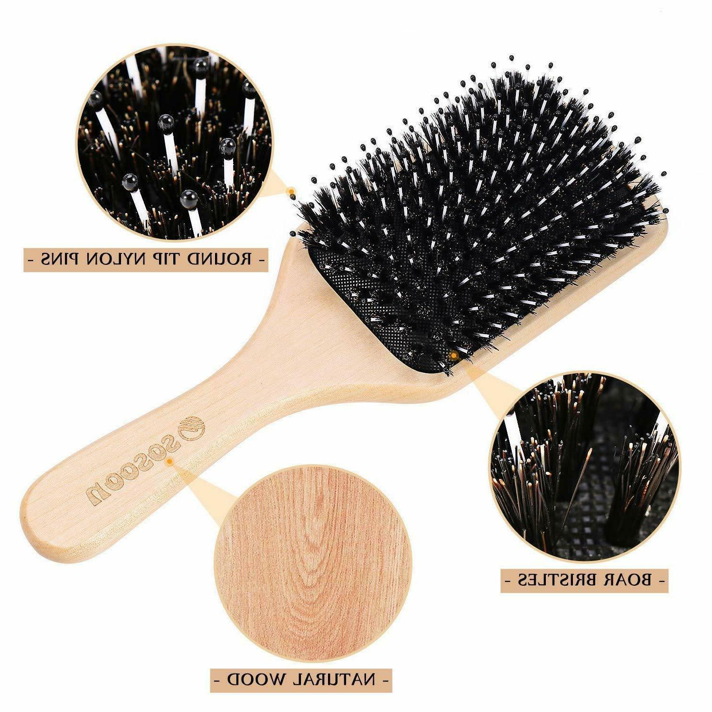 Hair Brush Boar Long Dry
