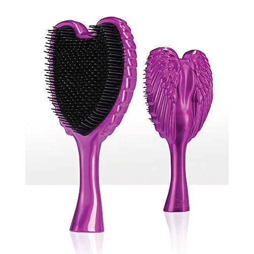 hair brush detangles wet dry