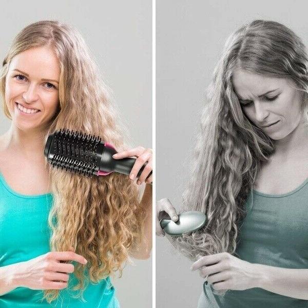 Hair Blower Straighten In Tourmaline Hot Electric