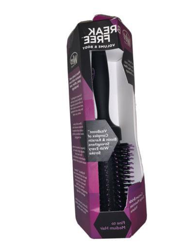 Wet Brush Smooth And Spiral Bristle Break