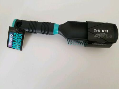 Conair Hair Nylon Bristle, Black/Aqua