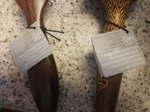 ION Hair Boar Blend Paddle Lot